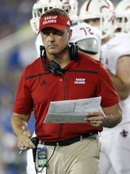 UL coach Mark Hudspeth likes his team's 2016 home schedule.