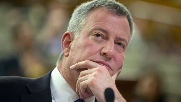 New York City Mayor Bill deBlasio