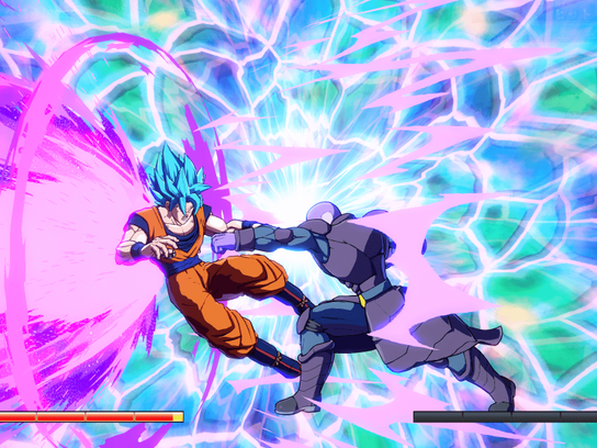 Players can utilize flashy finishing moves to annihilate both their opponents and the fighting arena.
