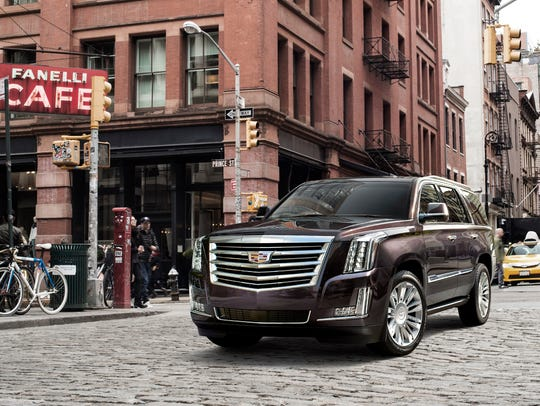 Cadillac Escalade, one of the cars available through Book by Cadillac, the automaker's subscription service.