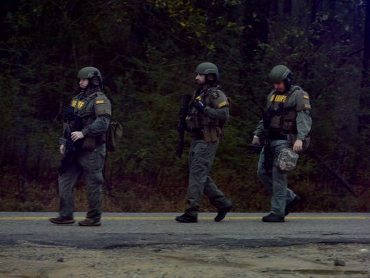 SWAT is on the scene in the Cantonment area where there