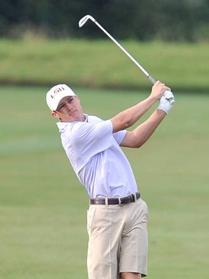 Nathan Jeansonne tied for medalist honors at this week's qualifier for the 2019 Mackenzie Tour (PGA Tour Canada).