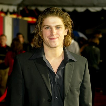 Michael Mantenuto arrives for the 2004 premiere of