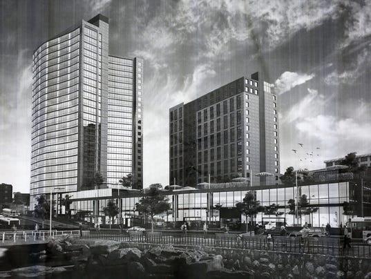 Larkin Plaza rendering