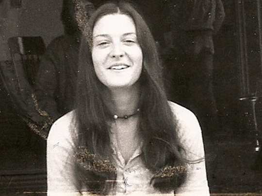 A 1969 photograph of Sharon Hensley in San Francisco