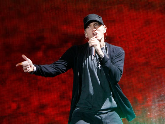 Eminem is expected to release his ninth album later
