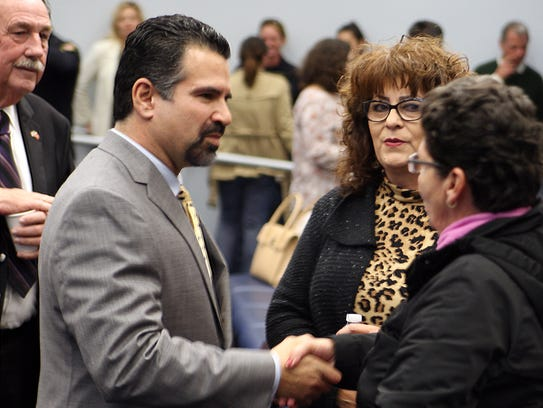 Salinas City Council Swearing  In 2016