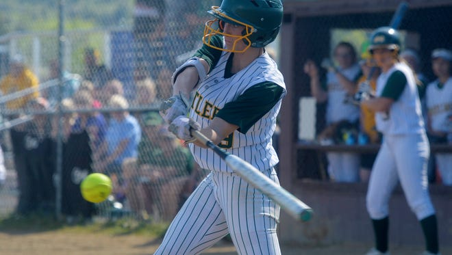 CMR's Madi Moore, a talented hitter and excellent defensive outfielder, has signed with the NCAA Division I program at the University of North Dakota.