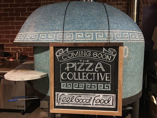The crust at the Pizza Collective, set to open in West