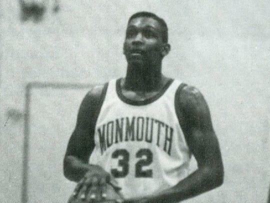 Monmouth's Fernando Sanders.