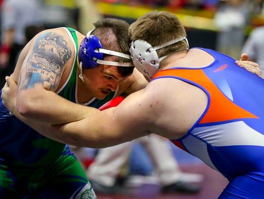 state wrestling 1A QUART_FINAL FRI rwhite