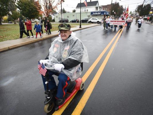 Veteran's Day Parade in Clifton