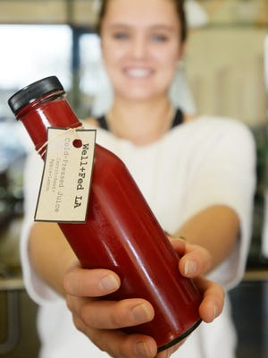 Well+Fed offers 12 oz. cold pressed juice at its Bossier City location.