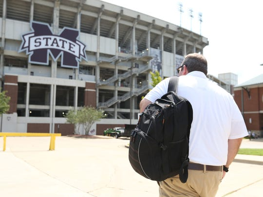 Neil Price is in his first season as Mississippi State's