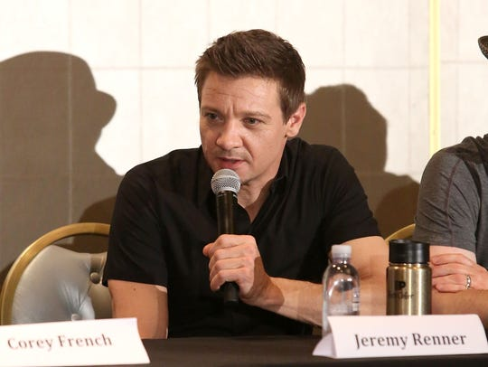 "Jeremy Renner, producer of ""The Founder,"" attends a"