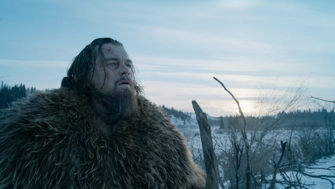 "Leonardo DiCaprio as Hugh Glass in a scene from the film ""The Revenant"" directed by Alejandro Gonzalez Inarritu."