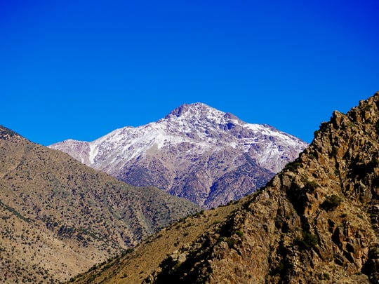 The Atlas mountains in southern Morocco, where some Jews migrated and settled among the Berbers.