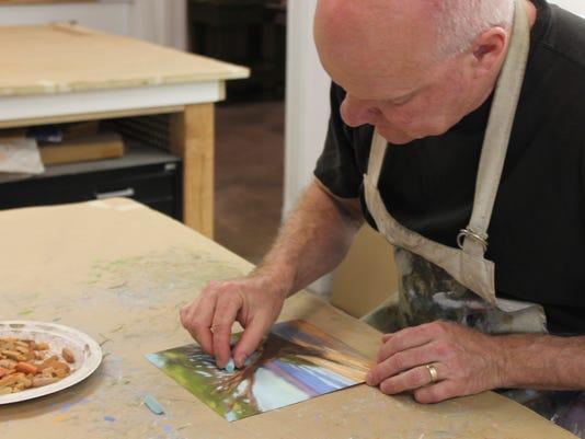 Martino Hoss Artist at Work.JPG