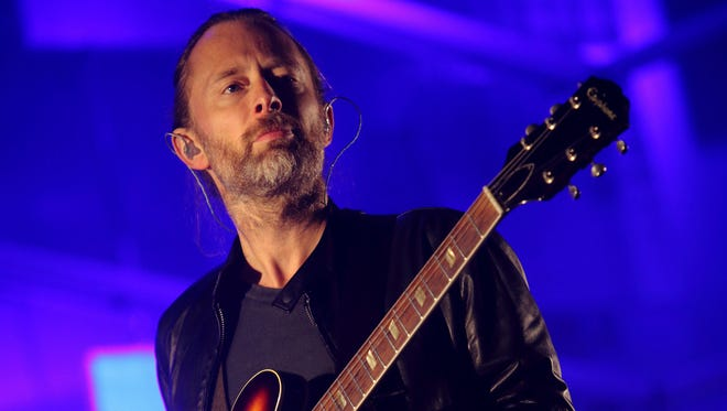 Thom Yorke performs at the 2013 Austin City Limits Music Festival in Austin, Texas on Oct. 6, 2013.