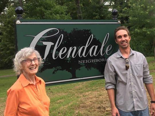 Glendale residents Martha Maddox and Erik Oien, proud