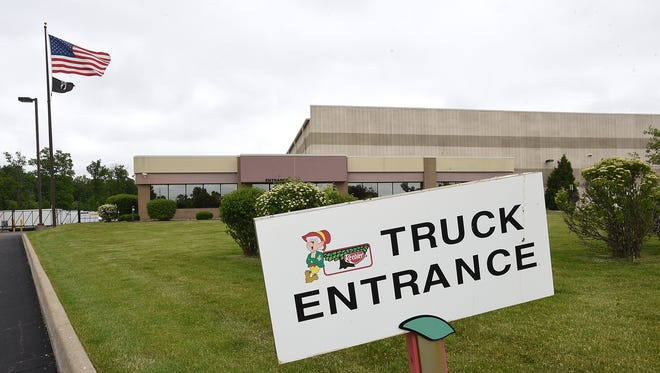 This Kellogg distribution warehouse in New Hudson off Grand River Ave. is slated to close.