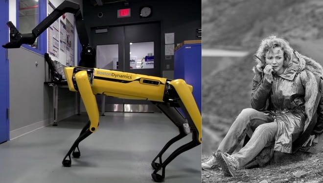 "People are freaking out over Boston Dynamics' robot dog and its resemblance to the robots from Black Mirror's Season 4 ""Metalhead"" episode."