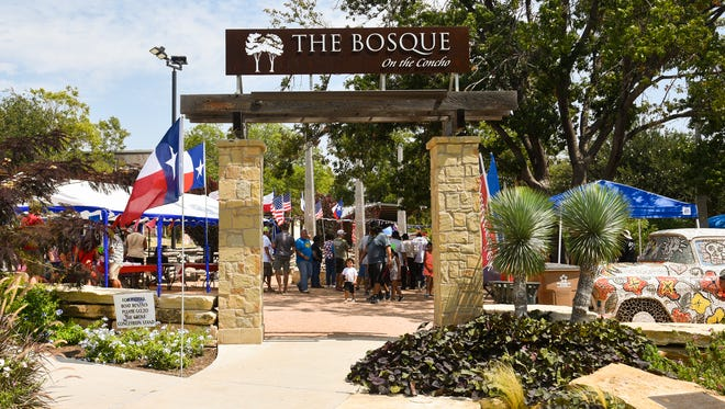 The Bosque on the Concho was the site of the 2017 River Fest sponsored by All American Chevrolet.