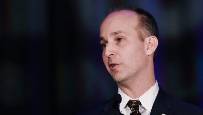 Lansing Mayor Andy Schor took office Jan. 1, 2018.