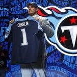Titans tackle Jack Conklin