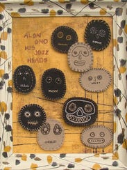 """Leann Meixner's """"Alan and His Jazz Heads."""""""