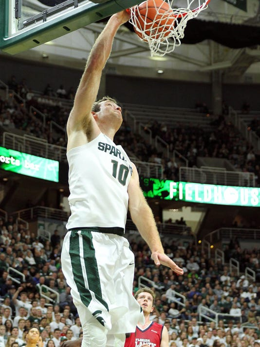 NCAA Basketball: Florida Atlantic at Michigan State