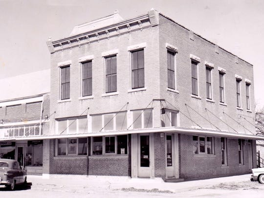 Pictured in Standard-Times archival photos is the building where LeRoy Schuhmann's family owned businesses.