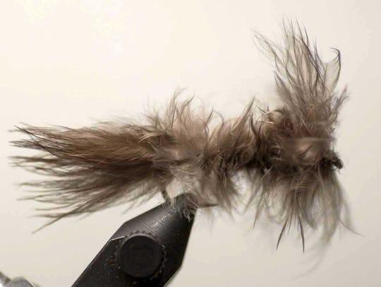 Wild Turkey Gray Leech fly.