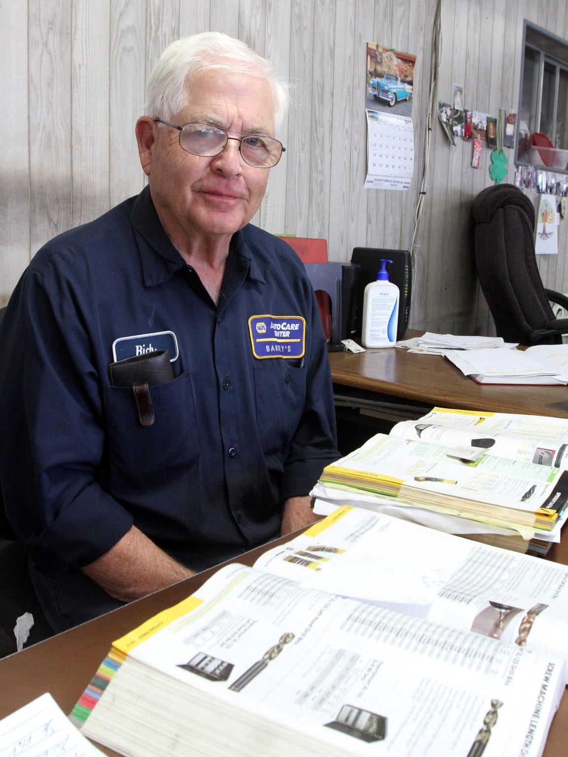 Richard Barney has seen many of the changes in Lakewood