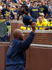 Anthony Carter played for Michigan in 1979-82.