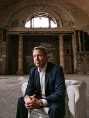 Ford Motor Co. Executive Chairman Bill Ford Jr. in Michigan Central Station in the Corktown neighborhood in Detroit on Wednesday, June 13, 2018.