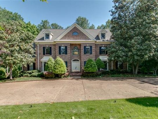 This home near the Clarksville Country Club sold for