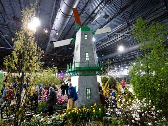 Philadelphia Flower Show Gives Visitors A Taste Of Holland