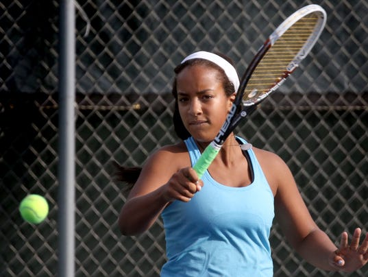 Nicolet Girls Tennis at Greenfield Sectional