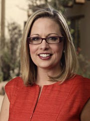 Democrat Kyrsten Sinema has voted three times against