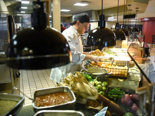 Executive Chef Chuck Gibbons serves a fresh southwest-themed
