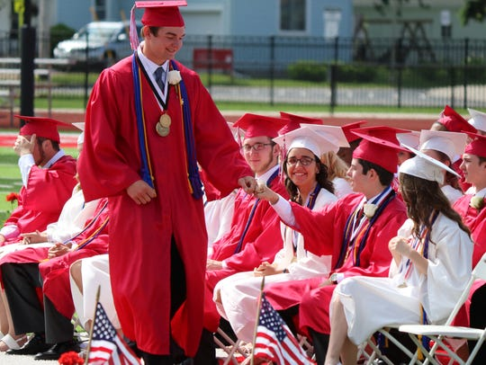 Port Clinton High School celebrated the Class of 2017