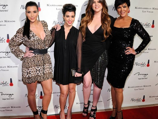 Momager Kris Jenner with her daughters on Dec. 15,