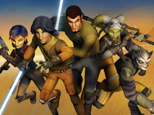 """Star Wars Rebels"" airs Wednesday nights at 7 p.m."