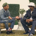 Screen grab of Vevo video 'Snoop Dogg & Pharrell Williams - BUSH Conversations' Web to Watch - BUSH Conversations: