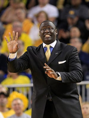 Michigan assistant coach Bacari Alexander