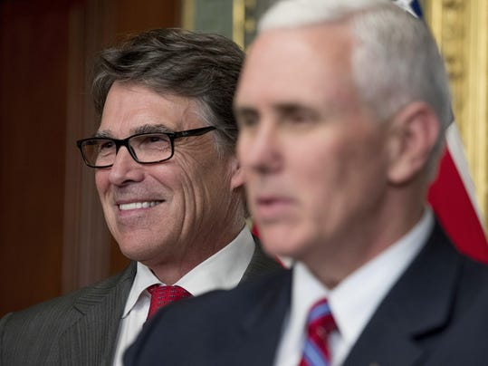 Mike Pence,Rick Perry