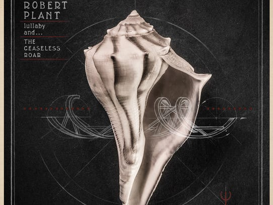 "The album cover of Robert Plant's ""Lullaby and... the"