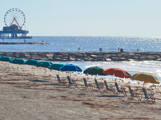 Some residents of Galveston, Texas, want changes at the city's beaches.
