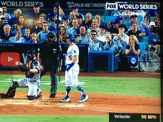 "Image result for world series celebrities ""behind home plate"""